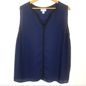 Pure Energy Blouse Top Size 2X Summer Plus T35